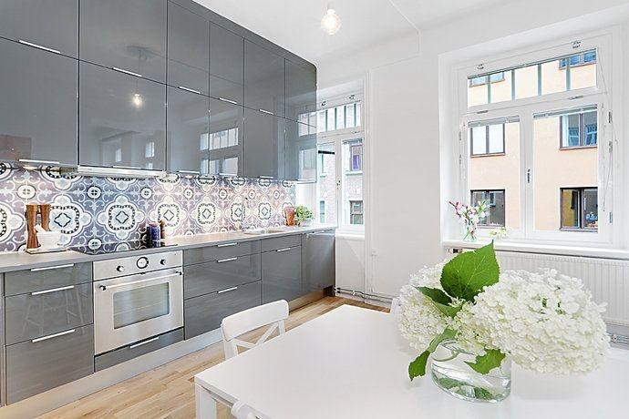 DiseÑo de cocinas en gris y madera   blogs de línea 3 cocinas ...