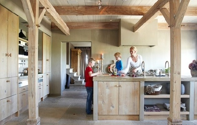 Cocinas r sticas modernas blogs de l nea 3 cocinas for Decoracion de cocinas rusticas modernas