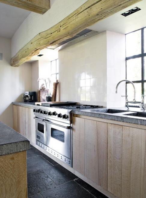 cocinas con estilo rustico