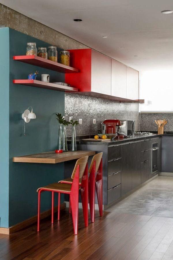 Dise os de cocinas en madrid con muebles en dos colores - Cocina para dos ...