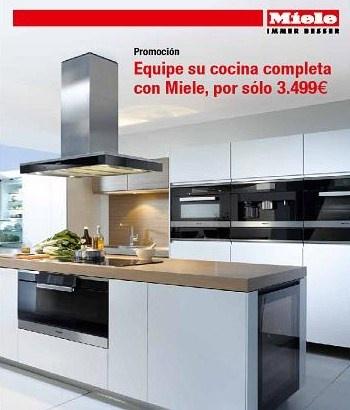 ELECTRODOMÉSTICOS MIELE EN LINEA 3 COCINAS - Blogs de Línea 3 ...