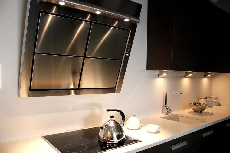 cocina iluminacion cocina muebles tipos de campanas extractoras para el diseo de