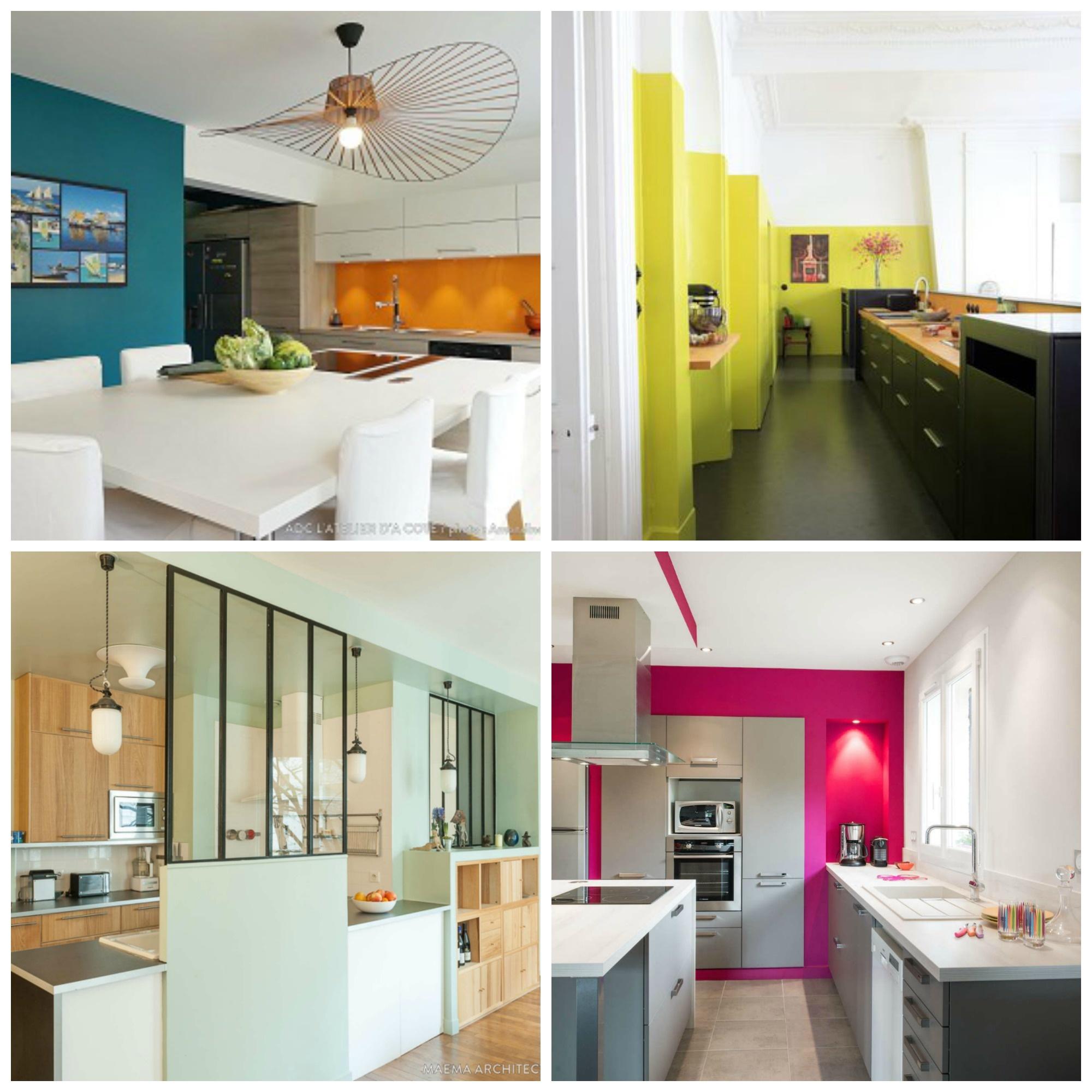 Cocinas colores cocinas integrales de colores mejores for Cocinas integrales en linea