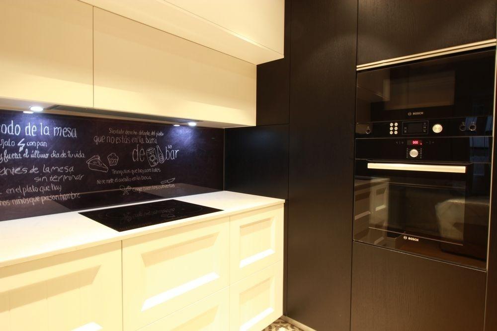 Electrodomesticos Negros En El Diseno De Cocinas En Madrid Blogs - Electrodomesticos-negros