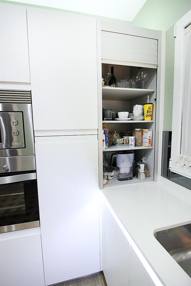 Cuando instalar un mueble de persiana en la cocina blogs for Mueble cocina americana