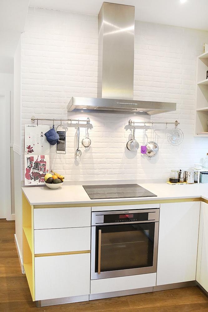 Diseño de cocinas en Cocina en L en el centro de Madrid- Galería de ...