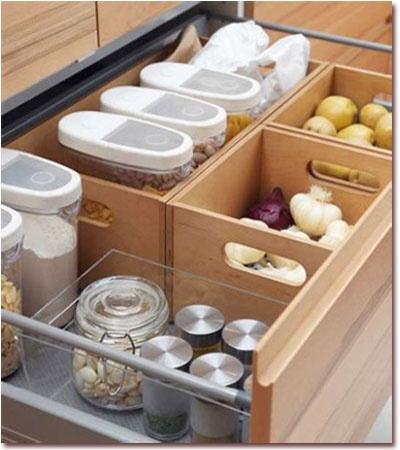 Extraibles rinconeras y almacenaje en gavetas blogs de - Mueble almacenaje cocina ...