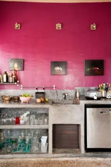 Cemento pulido en el diseÑo de la cocina   blogs de línea 3 ...