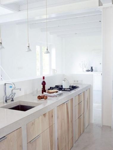 Dise o de cocina estilo rustico moderno blogs de l nea 3 for Cocinas integrales en linea