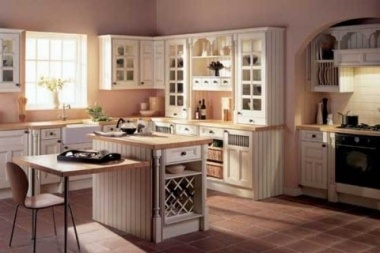 crear continuidad entre los muebles y la distribucin de la cocina es fundamental - Cocinas Clasicas