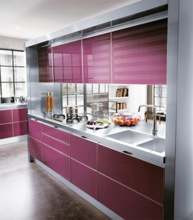 Puertas de cristal en el dise o de la cocina blogs de - Cocinas con puertas de cristal ...