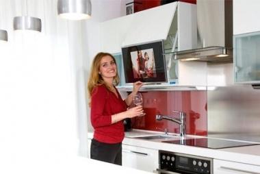 TELEVISORES EN LA COCINA Blogs de Lnea 3 Cocinas Diseo de