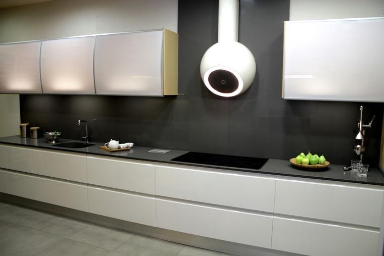 Cocina modelo lacado u ero de aluminio l nea 3 cocinas for Tecnicas modernas de cocina